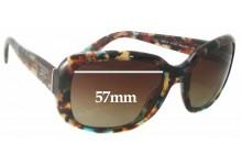 Prada SPR17P Replacement Sunglass Lenses - 57mm wide