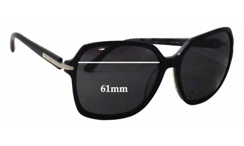 Prada SPR 18N Replacement Sunglass Lenses - 61mm Wide