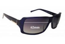 Prada SPR24G Replacement Sunglass Lenses - 62mm Wide