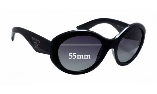 Prada SPR30P Replacement Sunglass Lenses - 55mm wide