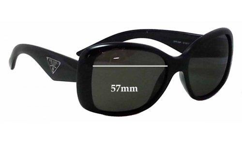 9e3a99fcae Prada SPR32P Replacement Lenses 57mm by The Sunglass Fix®