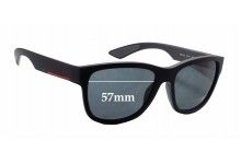 Prada SPS03Q Replacement Sunglass Lenses - 57mm wide