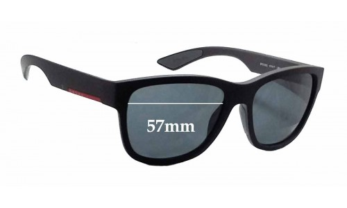 Prada SPS03Q New Sunglass Lenses - 57mm wide