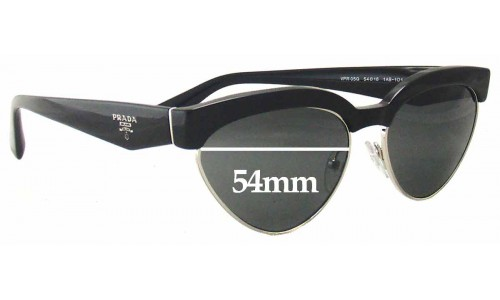 Prada VPR05Q Sunglass Replacement Lenses - 54mm wide