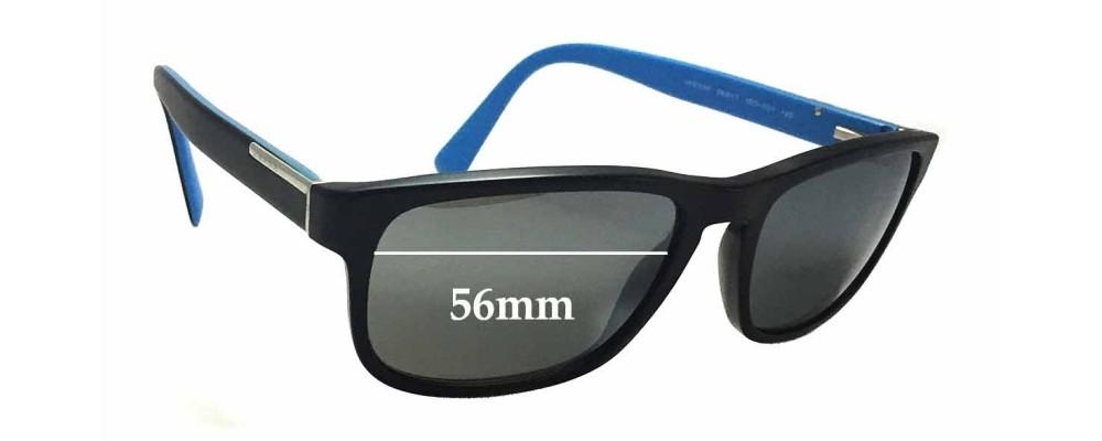 Prada VPR07P Replacement Sunglass Lenses - 56mm wide