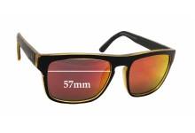 Quiksilver Sun Rx 04 Replacement Sunglass Lenses - 57mm wide x 45mm tall