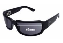 Quiksilver Fluid II Replacement Sunglass Lenses - 62mm Wide