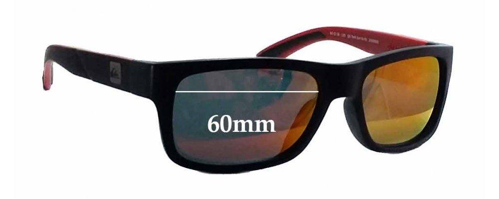 SFX Replacement Sunglass Lenses fits Quiksilver//Specsavers QS Sun RX 01 60mm