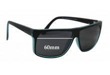 Quiksilver / Specsavers QS Sun RX 01 Replacement Sunglass Lenses - 60mm wide