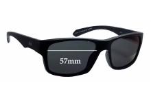 Quiksilver Sun Rx 102 Replacement Sunglass Lenses - 57mm wide