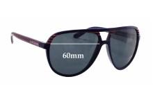 Quiksilver The Shaka QS1134 Replacement Sunglass Lenses - 60mm wide