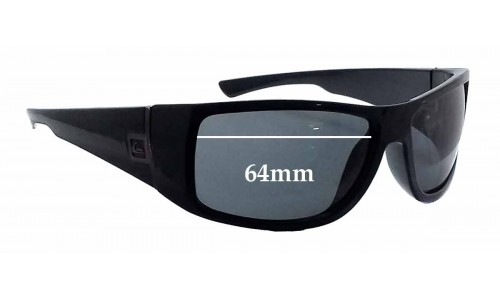 Quiksilver Transition Replacement Sunglass Lenses - 64mm wide