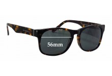 Sunglass Fix New Replacement Lenses for R. Hardy 9030 Havana - 56mm Wide