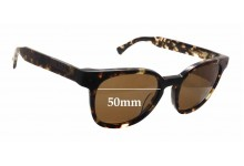 Raen Squire New Sunglass Lenses - 50mm wide x 43mm tall