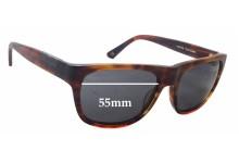 Raen Volta New Sunglass Lenses - 55mm wide x 42mm tall