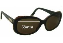 Ralph Lauren RL 8087 Replacement Sunglass Lenses - 58mm wide