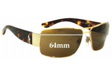Polo 3041 Replacement Sunglass Lenses - 64mm Wide