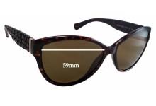 Ralph Lauren RA 5176 Replacement Sunglass Lenses - 59mm wide - 47mm tall
