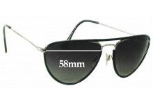Ralph Lauren RL 7037-Q-W Replacement Sunglass Lenses - 58mm wide