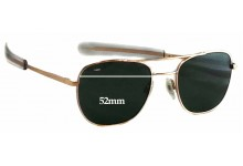 Randolph Engineering Aviator RE FGN Replacement Sunglass Lenses - 52mm wide