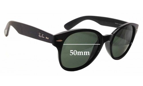 Ray Ban RB4141 Replacement Sunglass Lenses - 50mm wide