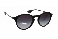 Ray Ban RB4243 Replacement Sunglass Lenses - 49mm wide