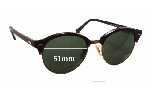 Ray Ban RB4246 Replacement Sunglass Lenses - 51mm wide