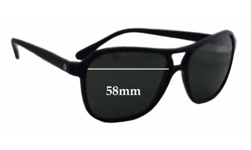 Sunglass Fix Replacement Lenses for Ray Ban Bausch Lomb Nylon Aviator - 58mm wide