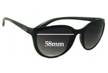 Ray Ban RB4167 Emma Replacement Sunglass Lenses - 58mm wide