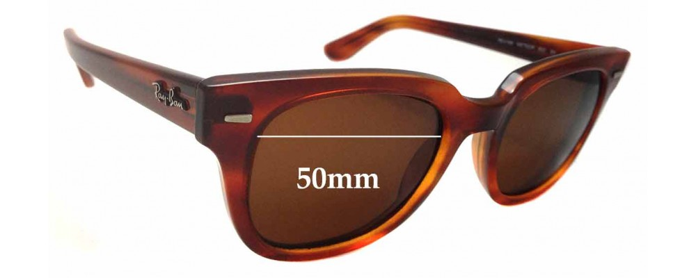 Ray Ban Meteor RB4168 Replacement Sunglass Lenses - 50mm wide