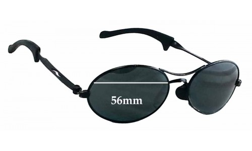 Ray Ban Predator Wrap Replacement Sunglass Lenses - 56mm wide