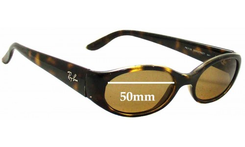 Ray Ban Sidestreet RB2128 Replacement Sunglass Lenses - 50mm wide
