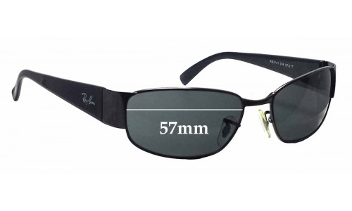 Sunglass Fix Replacement Lenses for Ray Ban RB3141 - 57mm wide