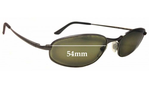 Ray Ban RB3163 Sleek O Replacement Sunglass Lenses - 54mm wide
