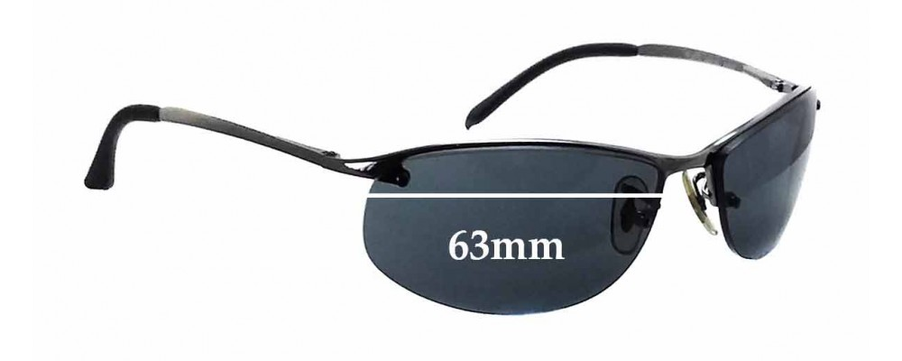 e32c3d152c Ray Ban RB3179 Replacement Lenses - 63mm Wide