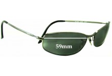 Ray Ban RB3216 Replacement Sunglass Lenses -59 mm wide