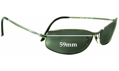 Sunglass Fix Replacement Lenses for Ray Ban RB3216 -59 mm wide