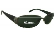 3f72a3b9f0e Sunglass Fix Replacement Lenses for Ray Ban RB3238 - 61mm Wide