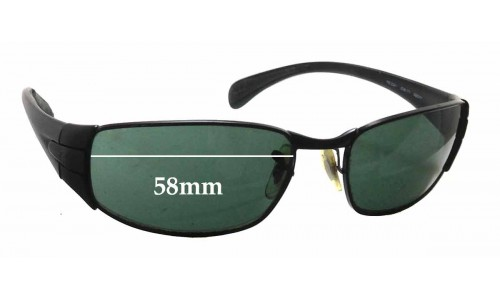 Sunglass Fix Replacement Lenses for Ray Ban RB3261 - 58mm wide