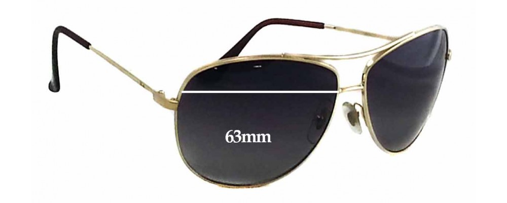Ray Wide Ban Sunglass Replacement For Rb3293 Lenses 63mm Fix VpSzMUq