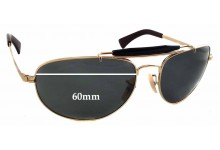Ray Ban RB3423 Replacement Sunglass Lenses - 60mm wide - 44mm tall