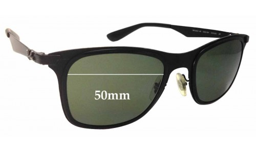 Ray Ban RB3521-M Sunglass Replacement Lenses - 50mm wide