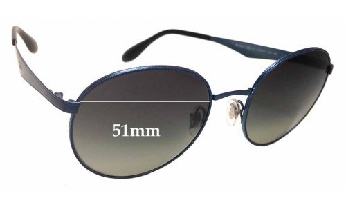 Ray Ban RB3537 Replacement Sunglass Lenses - 51mm wide