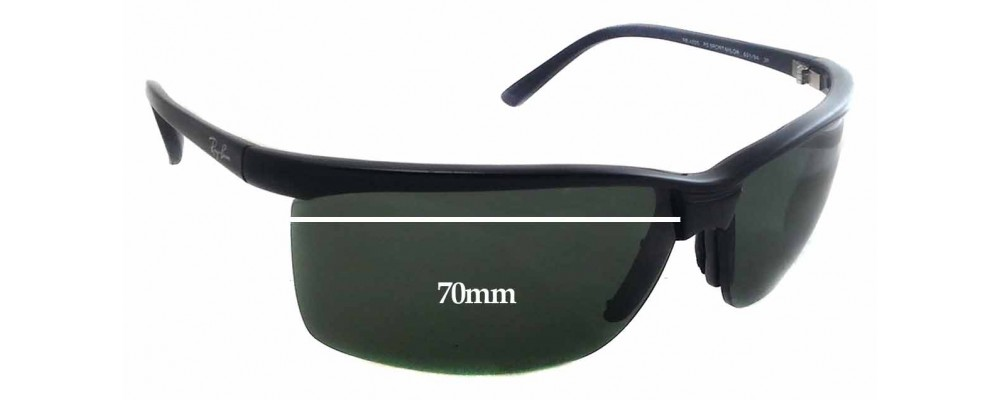 Ray Ban RB 4025 Replacement Sunglass Lenses - 70mm Wide - 43mm Tall