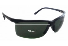 bd1e534f6e Sunglass Fix New Replacement Lenses for Ray Ban RB 4025 - 70mm wide - 43mm  tall