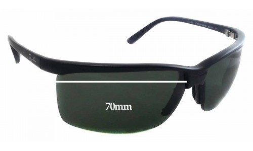 Sunglass Fix Replacement Lenses for Ray Ban RB 4025 - 70mm Wide - 43mm Tall
