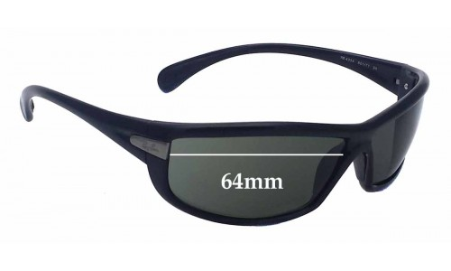 Ray Ban RB4054 Replacement Sunglass Lenses - 64mm Wide