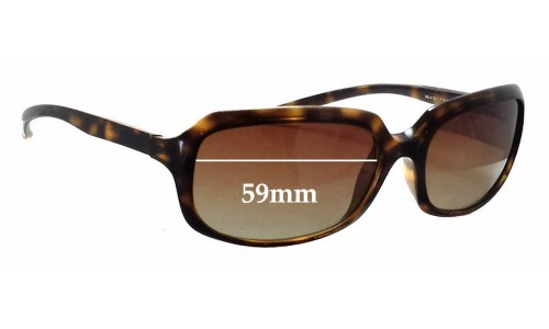 Ray Ban RB4131 Replacement Sunglass Lenses - 59mm wide