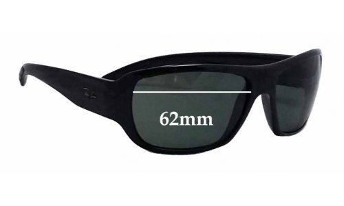 Ray Ban RB4150 Replacement Sunglass Lenses 62mm Wide