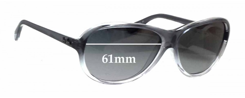 Ray Ban RB4153 Replacement Sunglass Lenses - 61mm wide